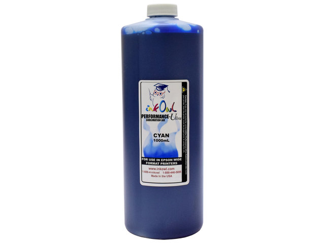 1000ml CYAN Performance-X Sublimation Ink for Epson Wide Format Printers