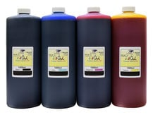 4x1L Matte Black, Cyan, Magenta, Yellow Ink for HP 72, 711