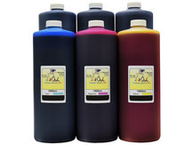 6x1L Matte Black, Photo Black, Cyan, Magenta, Yellow, Gray Ink for HP 72