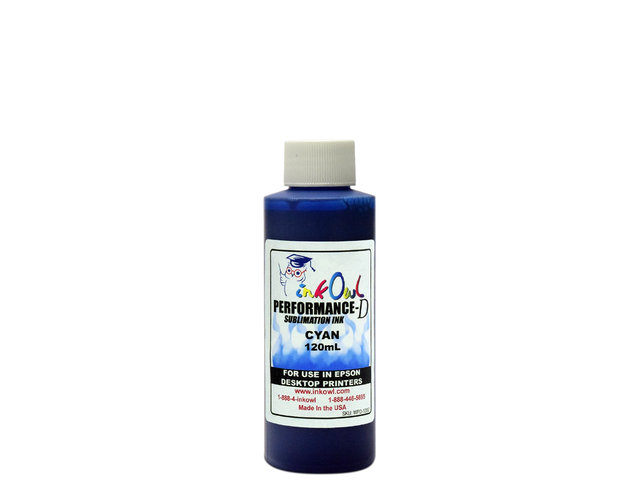 120ml CYAN Performance-D Sublimation Ink for Epson Desktop Printers