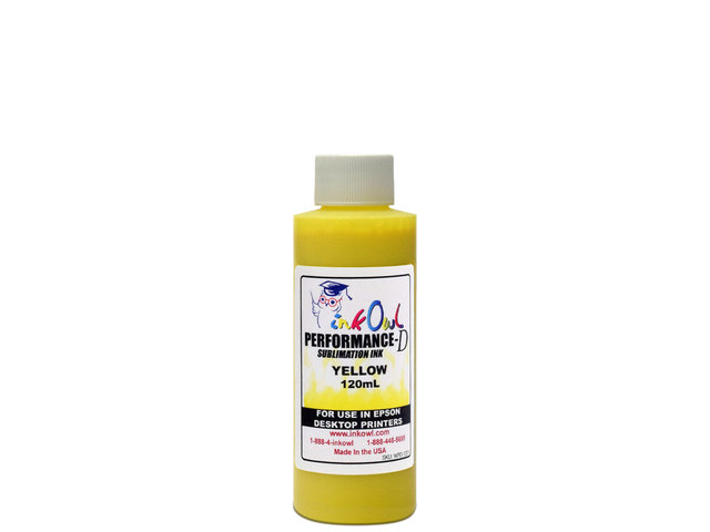 120ml YELLOW Performance-D Sublimation Ink for Epson Desktop