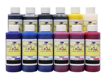 12x120ml ink to refill CANON PFI-1000, PFI-1100, PFI-1300, PFI-1700