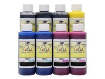 8x120ml ink to refill CANON PFI-1000, PFI-1100, PFI-1300, PFI-1700