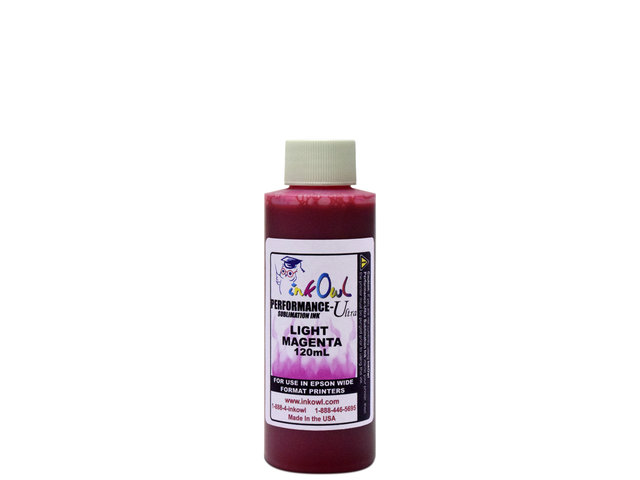 120ml LIGHT MAGENTA Performance-Ultra Sublimation Ink for Epson Wide Format Printers