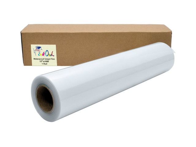 "WaterProof Inkjet Screen Printing Film 13/"" x 100/'"