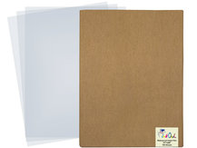17'' x 22'' (100 Sheets) Transparent Waterproof Inkjet Film