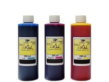 3x250ml Cyan, Magenta, Yellow Ink for use in CANON printers