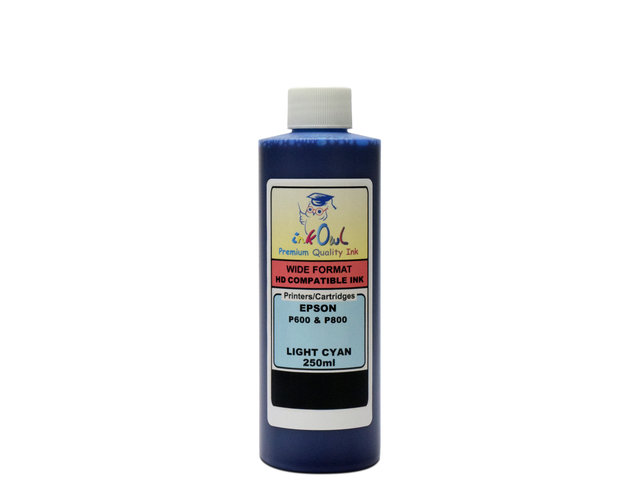 250ml LIGHT CYAN ink for EPSON Ultrachrome HD (SureColor P600, P800)
