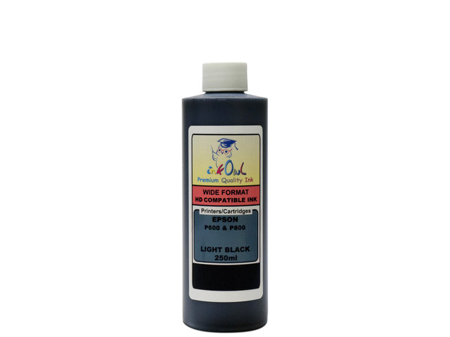 250ml LIGHT BLACK ink for EPSON Ultrachrome HD (SureColor P600, P800)