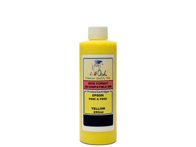 250ml YELLOW ink for EPSON Ultrachrome HD (SureColor P600, P800)