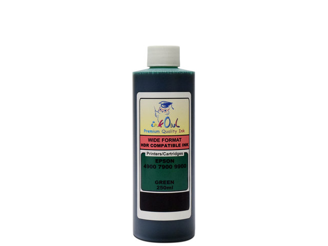 250ml GREEN ink for EPSON Stylus Pro 4900, 7900, 9900