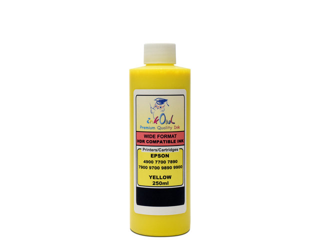 250ml YELLOW ink for EPSON Stylus Pro 4900, 7700, 7890, 7900, 9700, 9890, 9900