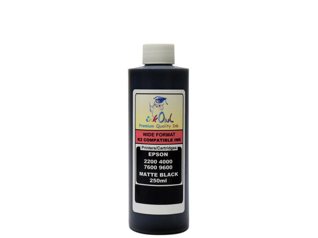 250ml MATTE BLACK ink for EPSON Ultrachrome K2