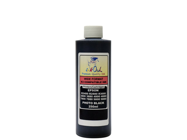 250ml PHOTO BLACK ink for EPSON Ultrachrome K3