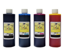 4x250ml Black, Cyan, Magenta, Yellow Ink for HP 10, 11, 12, 13, 14, 82