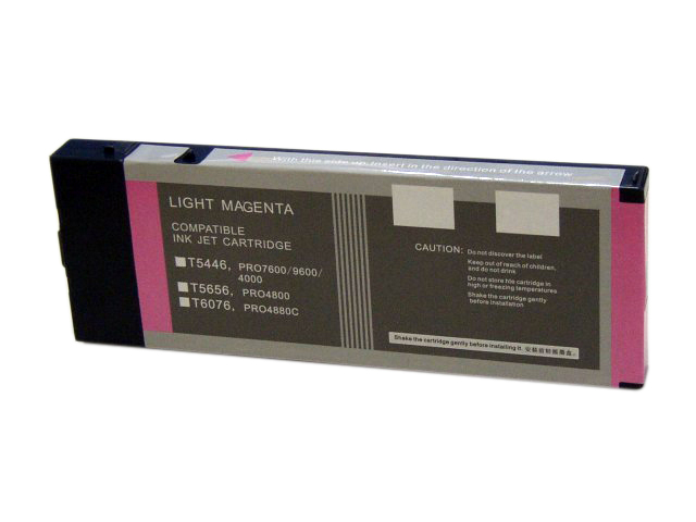 220ml Compatible Cartridge for EPSON Stylus Pro 4800 LIGHT MAGENTA (T5656/T606C)