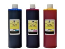 3x500ml Cyan, Magenta, Yellow Ink for use in CANON printers