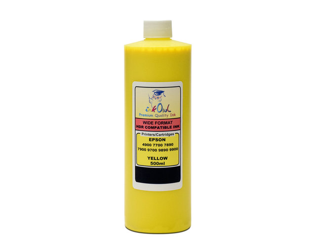 500ml YELLOW ink for EPSON Stylus Pro 4900, 7700, 7890, 7900, 9700, 9890, 9900