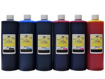 6x500ml FADE RESISTANT Dye Ink for EPSON