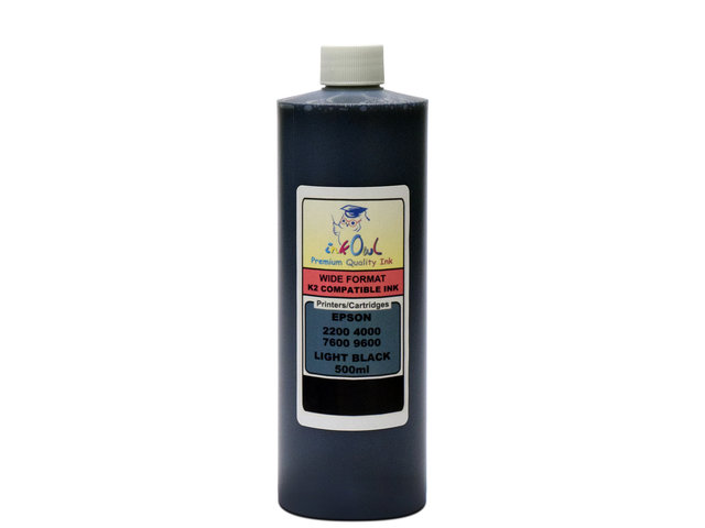 500ml LIGHT BLACK ink for EPSON Ultrachrome K2