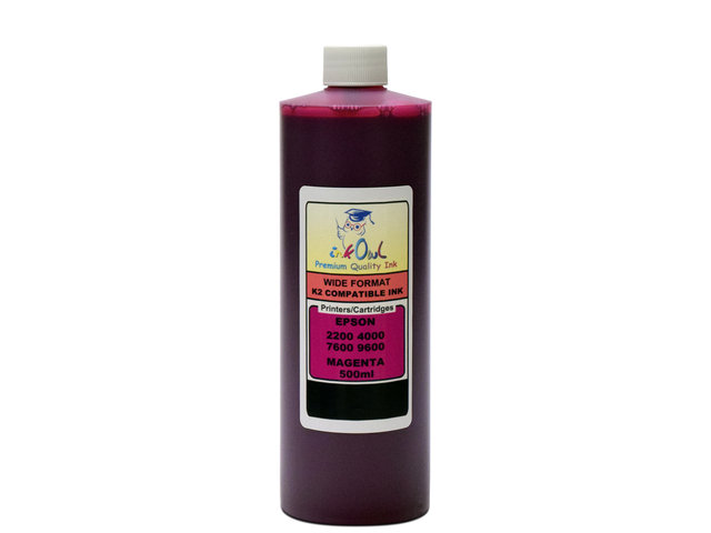 500ml MAGENTA ink for EPSON Ultrachrome K2