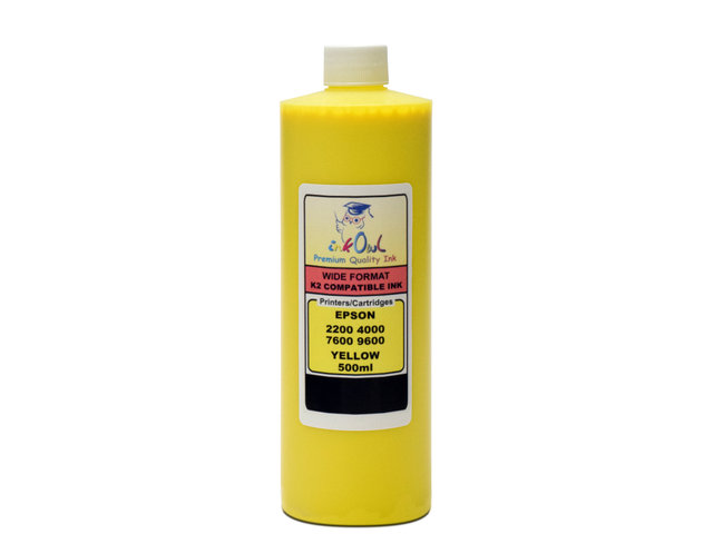 500ml YELLOW ink for EPSON Ultrachrome K2
