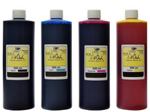 4x500ml Black, Cyan, Magenta, Yellow Ink for HP 10, 11, 12, 13, 14, 82