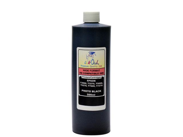 500ml PHOTO BLACK ink for Ultrachrome XD