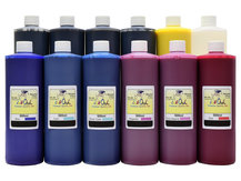 12x500ml ink to refill CANON PFI-1000, PFI-1100, PFI-1300, PFI-1700