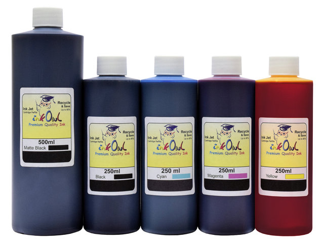 500ml/250ml ink to refill CANON PFI-007, PFI-107, PFI-207, PFI-307, PFI-707