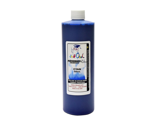 500ml CYAN Performance-Ultra Sublimation Ink for Epson Wide Format Printers