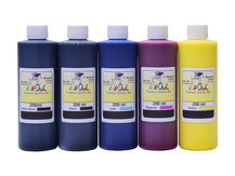 5x250ml ink to refill CANON PFI-110, PFI-120, PFI-310, PFI-320, PFI-710