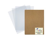 8.5'' x 11'' (100 Sheets) Transparent Waterproof Inkjet Film