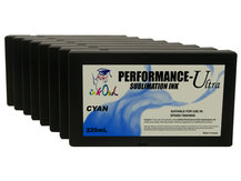 8-Pack 220ml Performance-Ultra Sublimation Cartridges for Epson Stylus Pro 7800, 9800