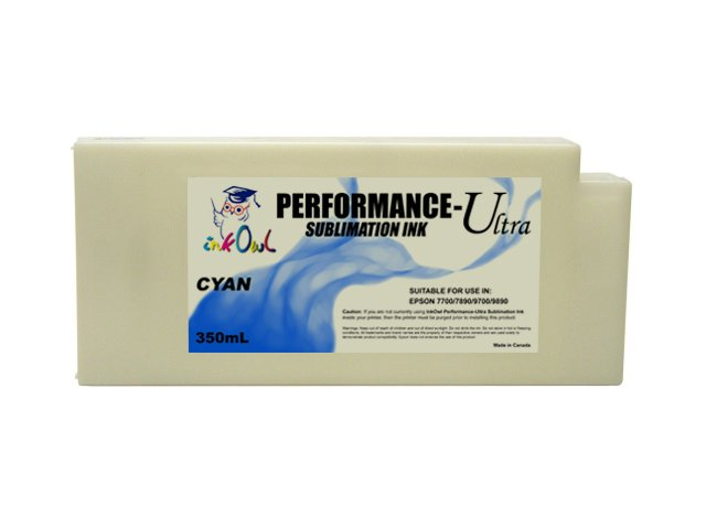 350ml CYAN Performance-Ultra Sublimation Cartridge for Epson Stylus Pro 7700, 7890, 7900, 9700, 9890, 9900