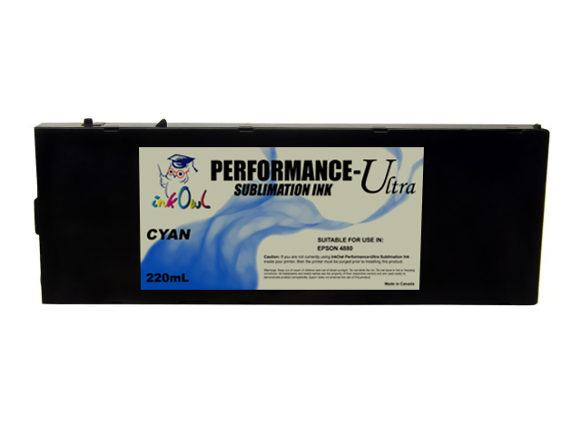 220ml CYAN Performance-Ultra Sublimation Cartridge for Epson Stylus Pro 4880