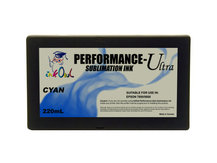 220ml CYAN Performance-Ultra Sublimation Cartridge for Epson Stylus Pro 7800, 9800
