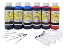 *FADE RESISTANT* 120ml Bulk Kit for EPSON CLARIA Printers