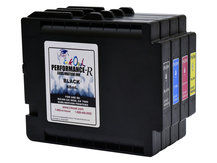 4-Pack Performance-R Sublimation Cartridges for use in Ricoh® GX 5050, GX 7000 printers (GC21)