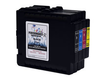 4-Pack Performance-R Sublimation Cartridges for use in Ricoh® GX e3300, GX e7700 printers (GC31)
