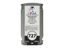 Remanufactured 130ml HP #727 GRAY Cartridge for DesignJet T920, T930, T1500, T1530, T2500, T2530 (B3P24A)