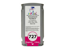 Remanufactured 130ml HP #727 MAGENTA Cartridge for DesignJet T920, T930, T1500, T1530, T2500, T2530 (B3P20A)