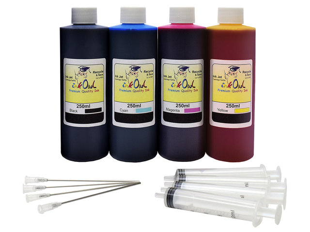 250ml Bulk Kit for most BROTHER printers