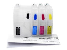 Easy-to-refill Standard-Size Cartridge Pack for BROTHER LC3017, LC3019