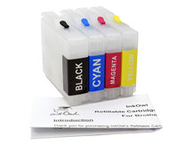 Easy-to-refill Standard-Size Cartridge Pack for BROTHER LC51 and others