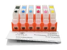 Easy-to-refill Cartridge Pack for use with CANON CLI-8 (6 cartridges)
