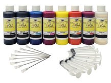 120ml Bulk Kit for EPSON P400, R1900, R2000 with Matte Black and Gloss Optimizer