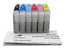 Easy-to-refill Cartridge Pack for EPSON (T0781-T0786)