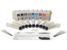 Standard-Size Refillable Cartridge Set for EPSON SureColor P800