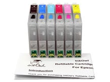 Easy-to-refill Cartridge Pack for EPSON (T0481-T0486)